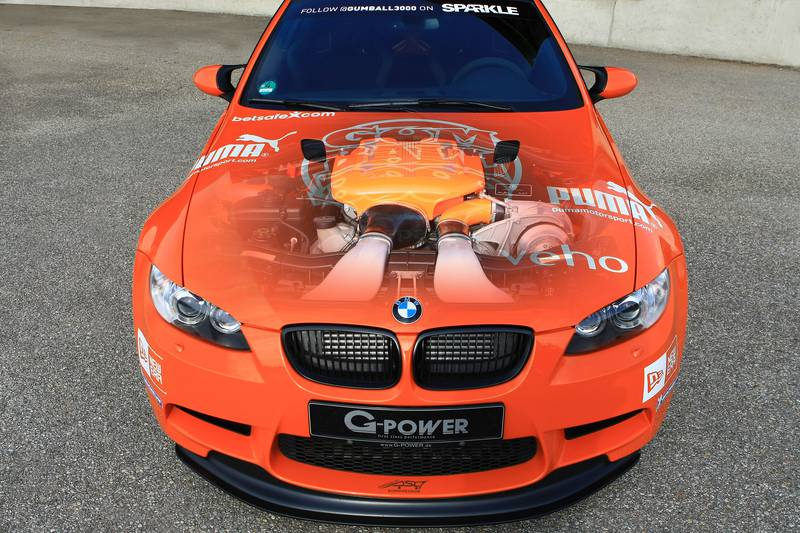 BMW M3 GTS G-POWER